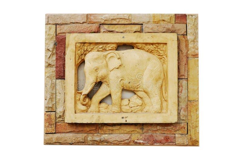 陶瓷大象 免版税图库摄影