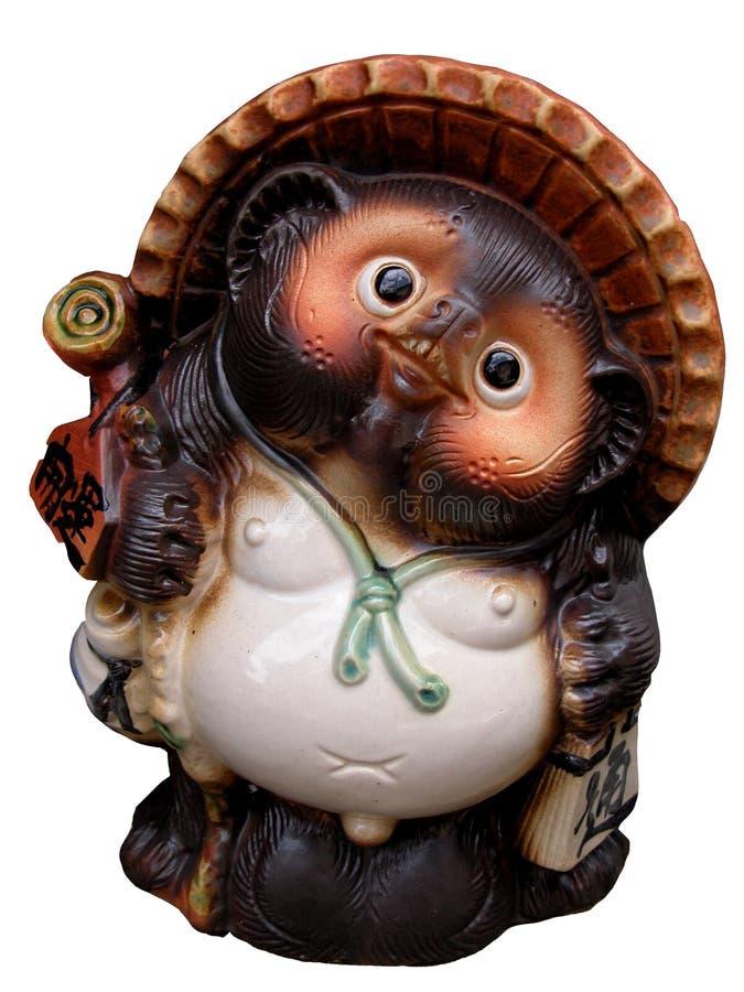 陶瓷小雕象 图库摄影