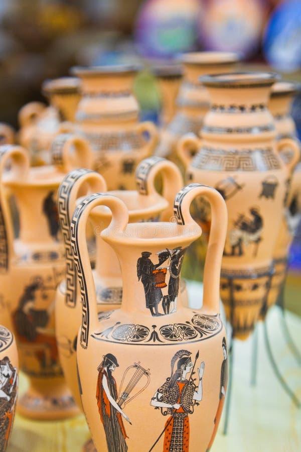 陶瓷界面纪念品 库存照片