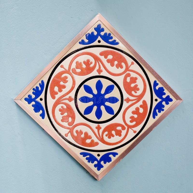 陶瓷砖样式五颜六色的样式 库存照片