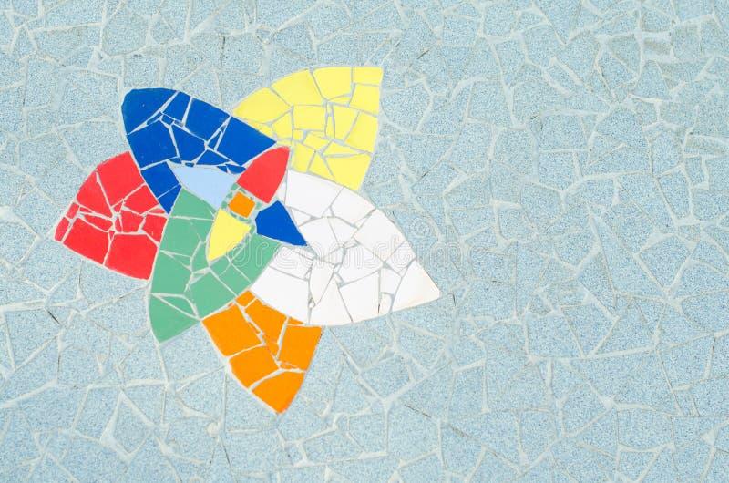 陶瓷砖样式和颜色 图库摄影