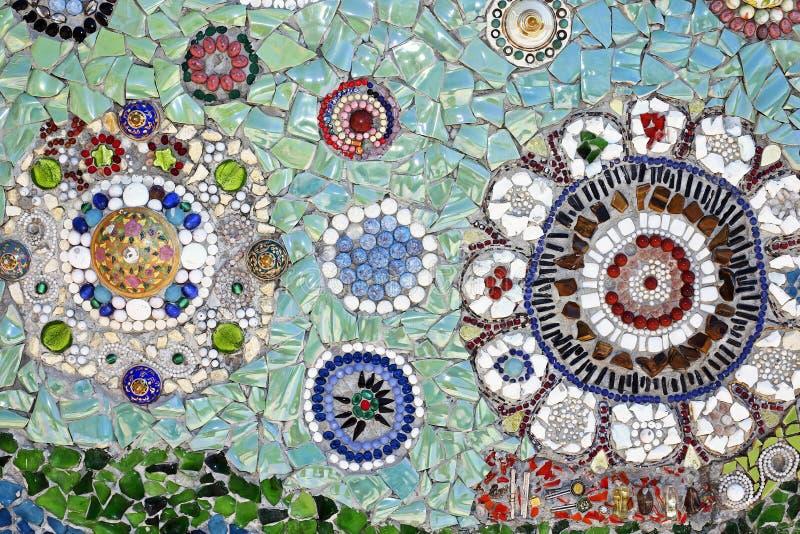 陶瓷砖样式 库存照片