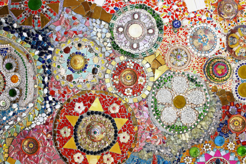 陶瓷砖样式 库存图片