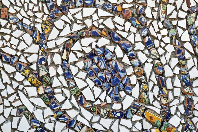 陶瓷砖片段的装饰 免版税图库摄影