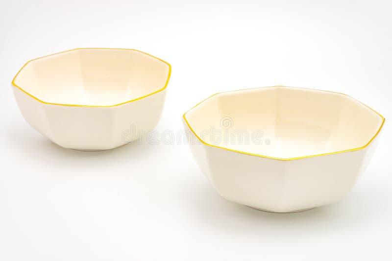 陶瓷碗 库存照片