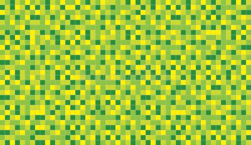 陶瓷绿色柠檬马赛克 免版税库存图片
