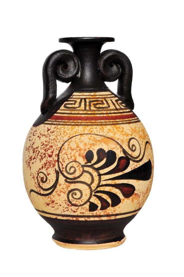 陶瓷花瓶 免版税图库摄影