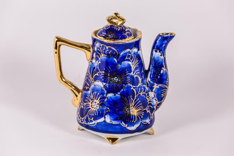 陶瓷茶罐 图库摄影