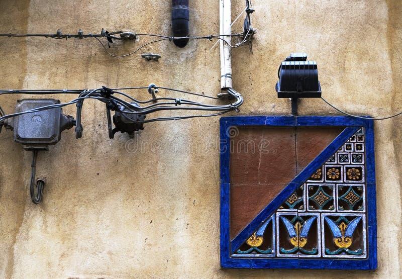 陶瓷装饰西西里岛 库存照片