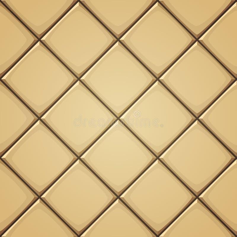 陶瓷ceranic纹理瓦片 向量例证