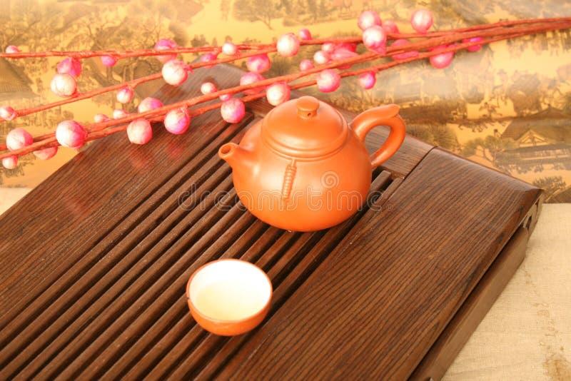 陶茶 图库摄影