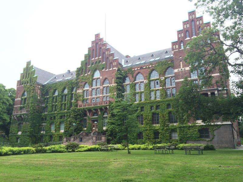 隆德大学图书馆 免版税库存图片