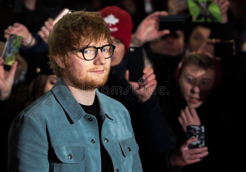 隆重的红发艾德在Berlinale期间2018年 库存图片