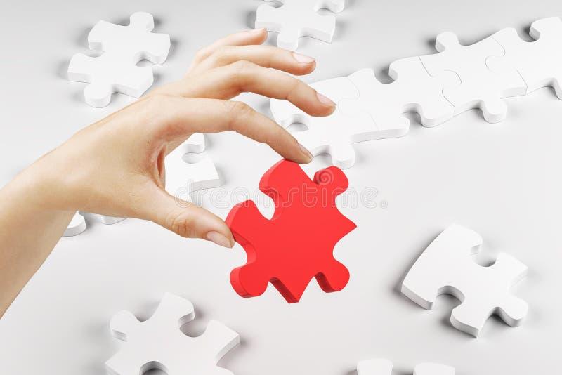 隐喻和挑战概念 库存例证