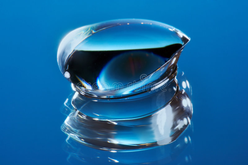 隐形眼镜 免版税图库摄影