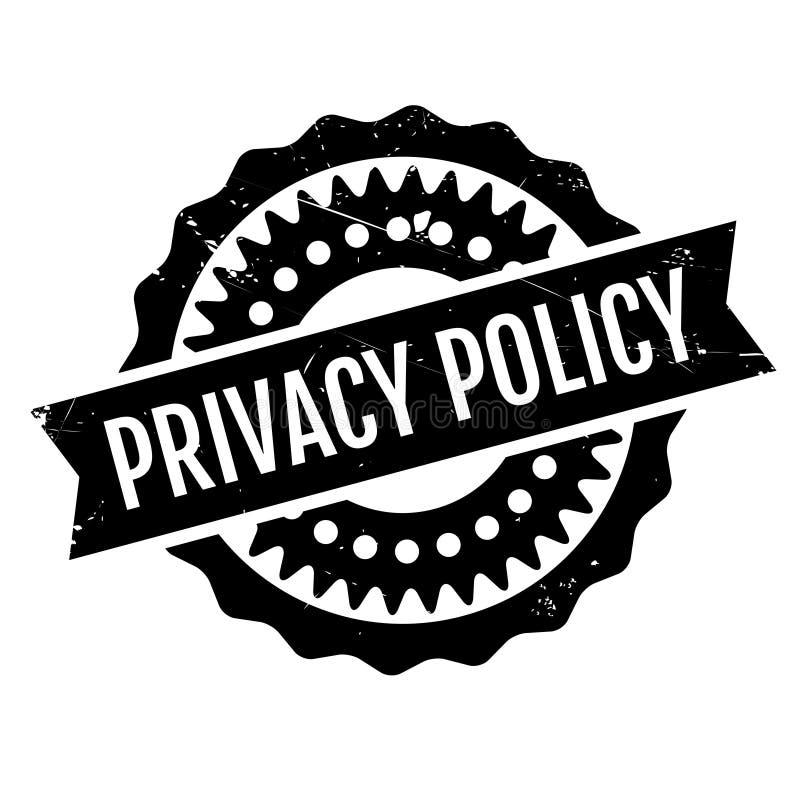隐私权政策不加考虑表赞同的人 库存例证