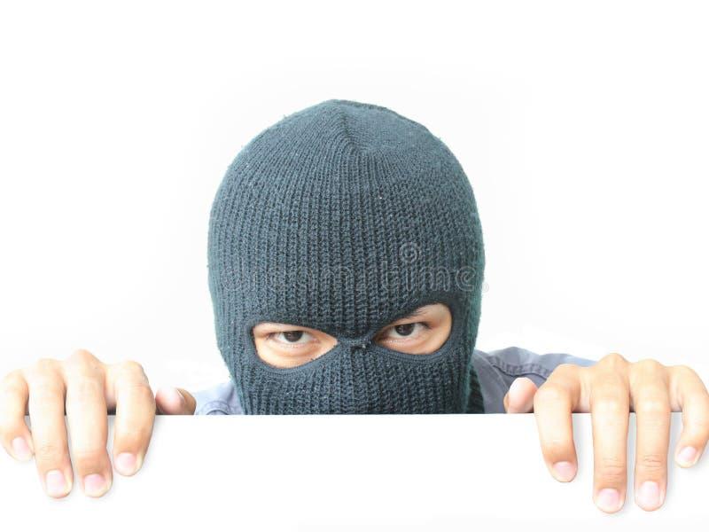 隐藏的强盗 免版税库存图片