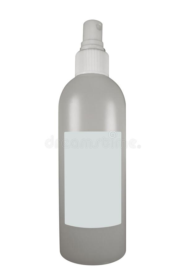 隔离消毒瓶 库存图片