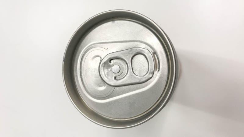 隔绝在软饮料顶部能 免版税库存图片