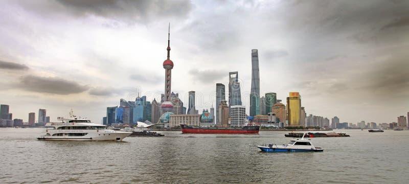 障壁上海 免版税库存照片