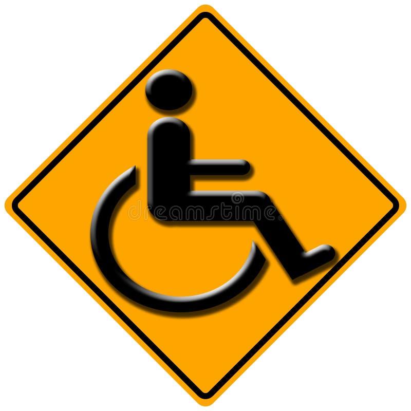 障碍符号 向量例证