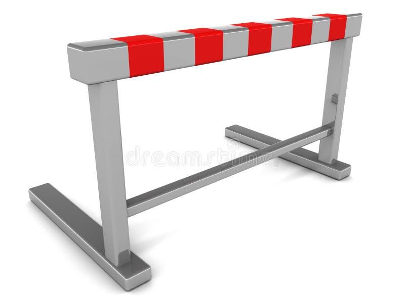 障碍障碍 向量例证