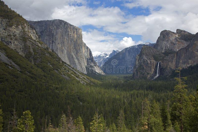 隧道视图,优胜美地国家公园,加利福尼亚,美国 库存图片