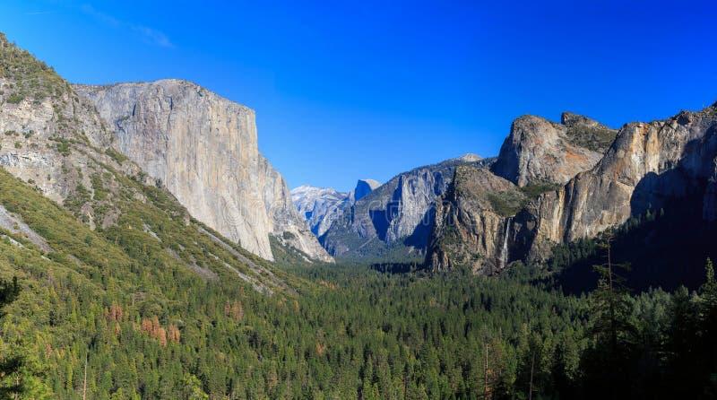 隧道视图,优胜美地国家公园,加利福尼亚,美国 库存照片
