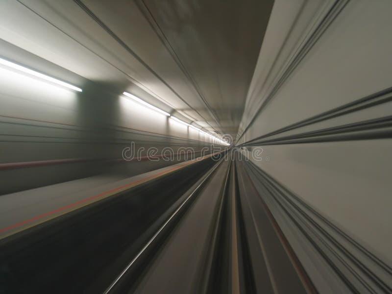 隧道视图 免版税库存照片