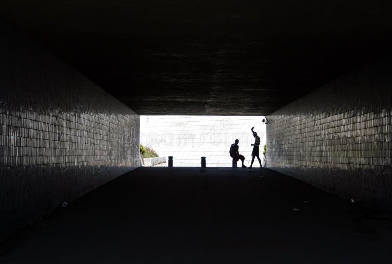 隧道 库存图片