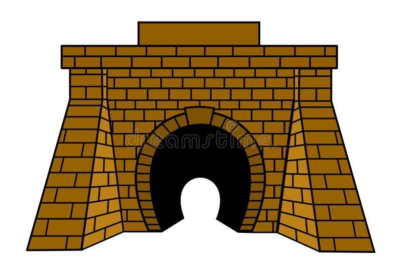 隧道 库存例证