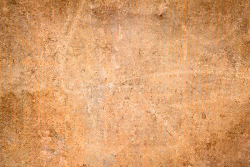 难看的东西土气铜纹理 库存图片