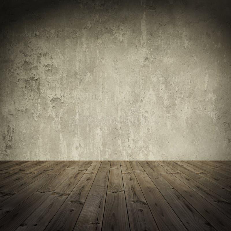 难看的东西墙壁,葡萄酒变老了老背景 免版税库存照片