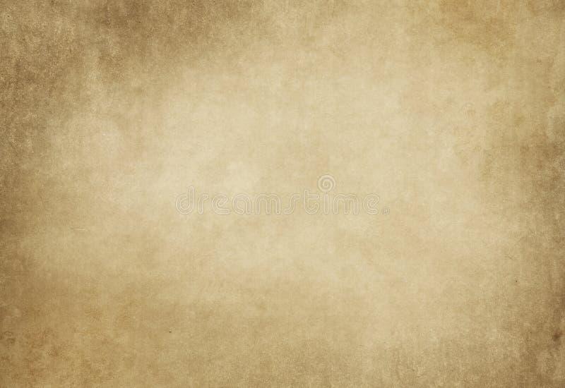 难看的东西染黄了设计的纸纹理 库存照片