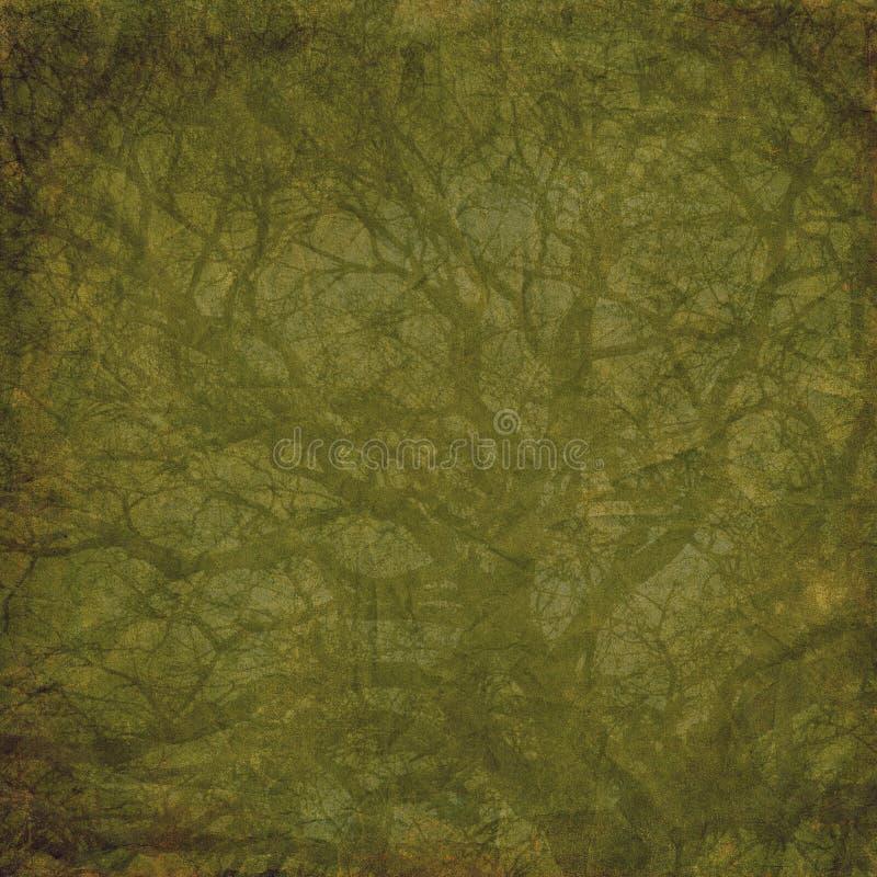 难看的东西树背景 免版税库存照片