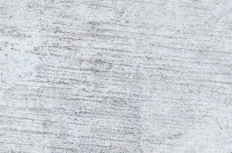 难看的东西混凝土墙被构造的或背景,具体肮脏与 图库摄影