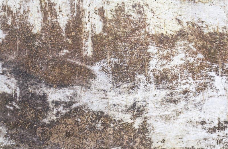 难看的东西混凝土或水泥墙壁背景 免版税库存图片