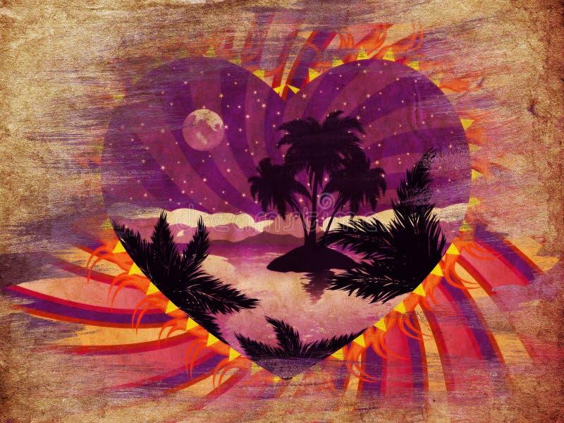 Download 难看的东西热带海岛在心脏 库存例证. 插画 包括有 火箭筒, 预留, 背包徒步旅行者, 田园诗, 月亮, 加勒比 - 30331110