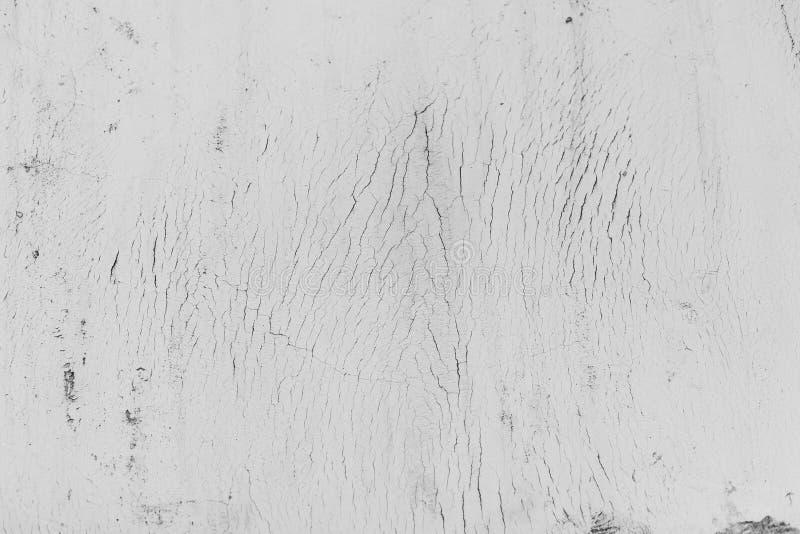 难看的东西白色混凝土墙背景 免版税图库摄影