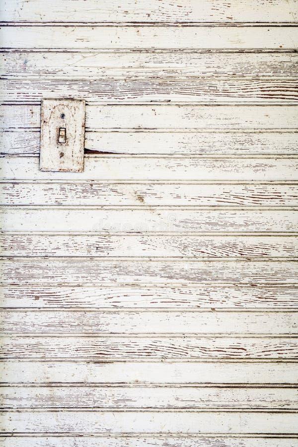 难看的东西白色被绘的木墙壁背景 库存照片