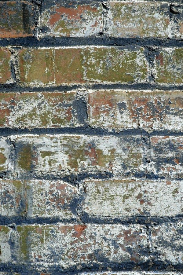 难看的东西砖墙 免版税库存照片