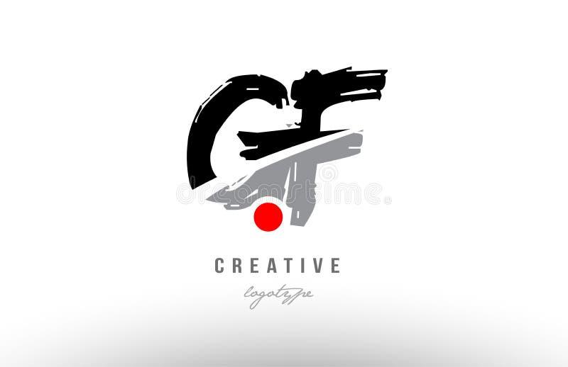 公���-�g��f_字母表难看的东西信件商标组合gf与黑灰色颜色的g f设计公司或事务的