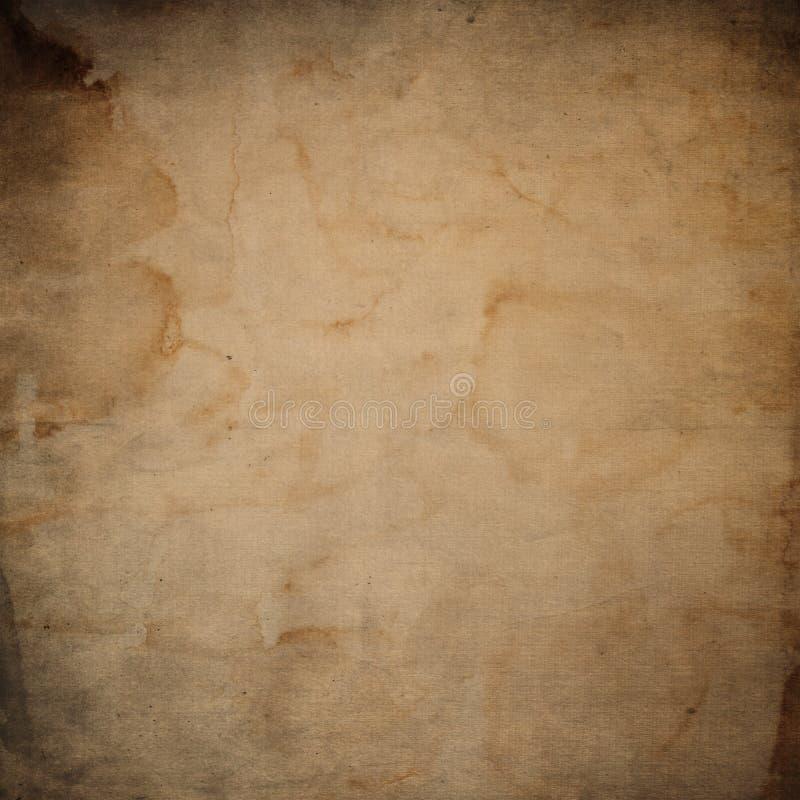 难看的东西纸背景 老,葡萄酒纹理 向量例证