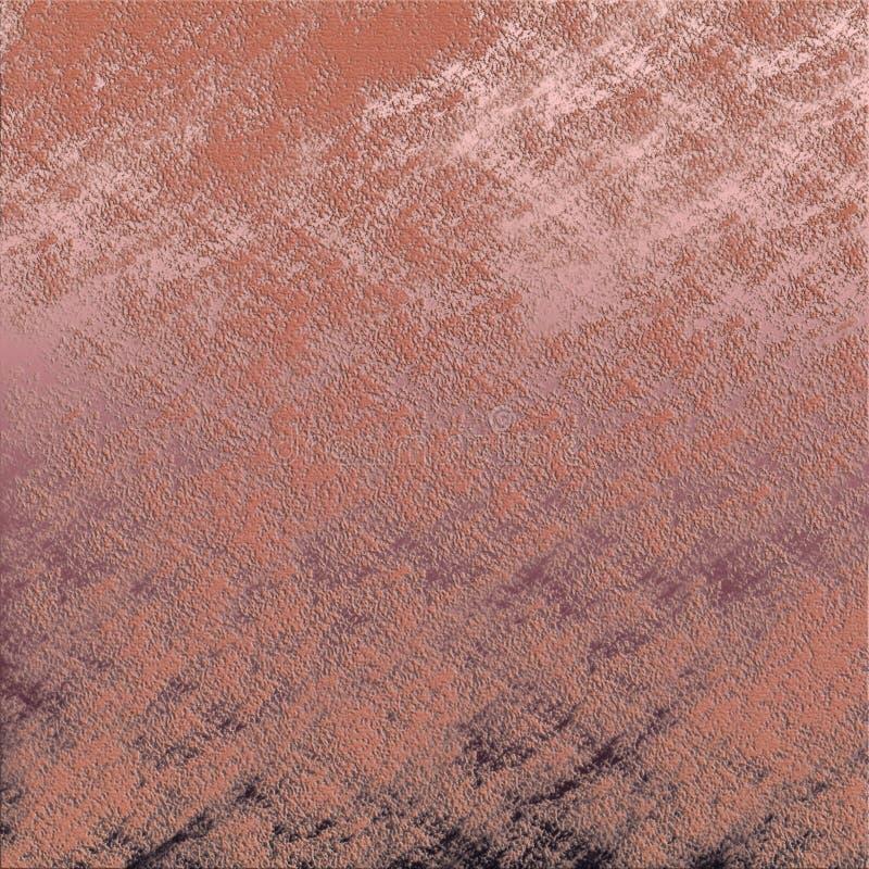 难看的东西绘了纸纹理 与脏的柔和的淡色彩的背景艺术品 皇族释放例证
