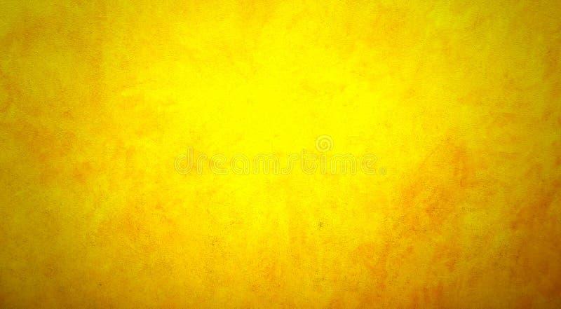 难看的东西背景橙黄色 向量例证