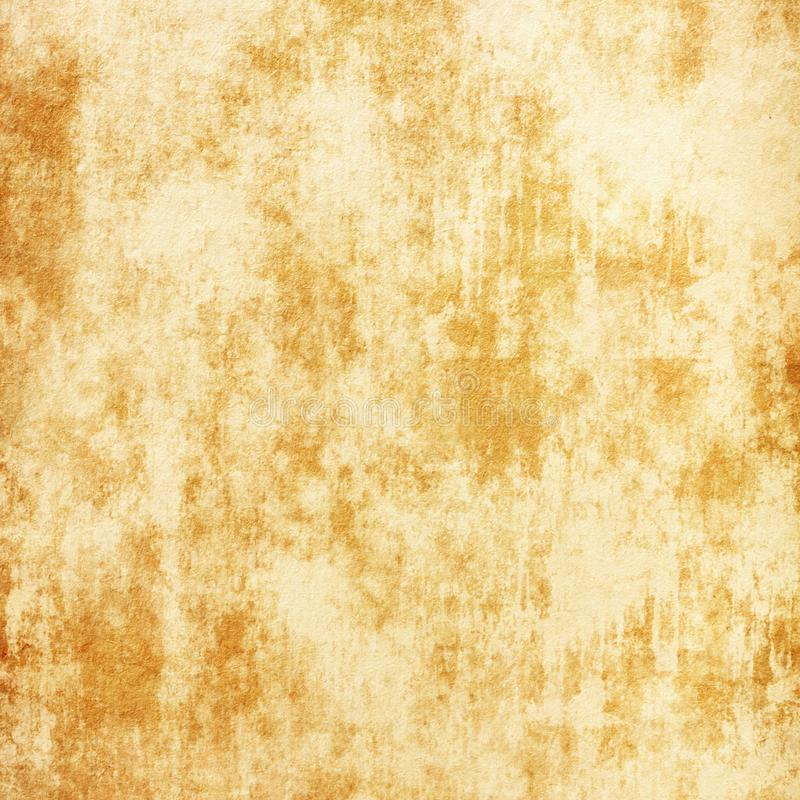 难看的东西背景,老纸,帆布,古色古香,米黄,棕色,黄色,葡萄酒,减速火箭,空白 免版税库存照片