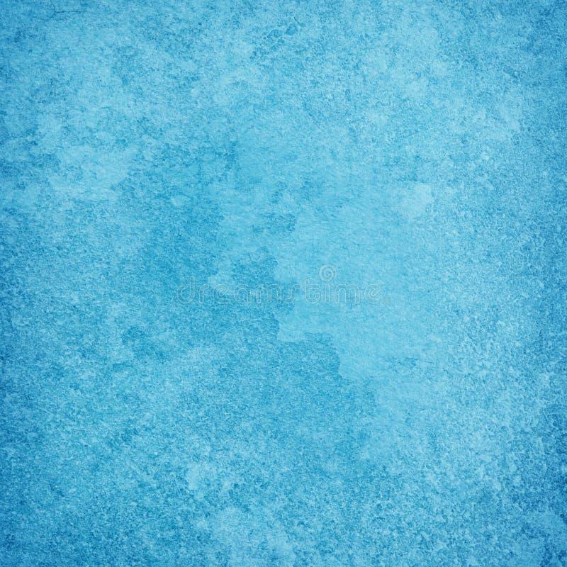 难看的东西蓝色纹理或背景与肮脏或老化 皇族释放例证