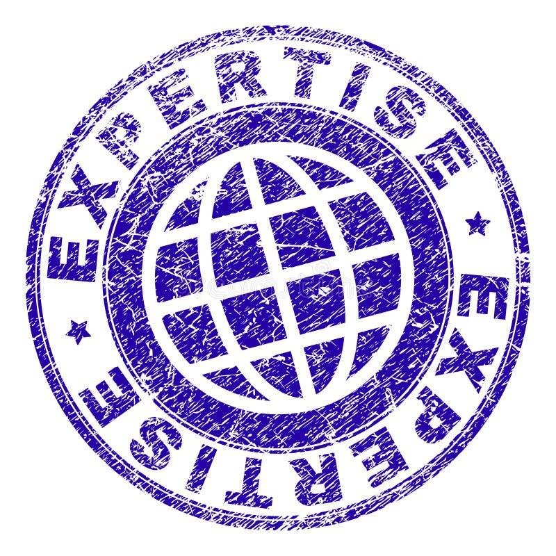 难看的东西被构造的专门技术邮票封印 皇族释放例证