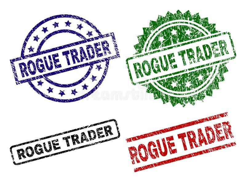 难看的东西被构造的凶恶贸易商封印邮票 皇族释放例证