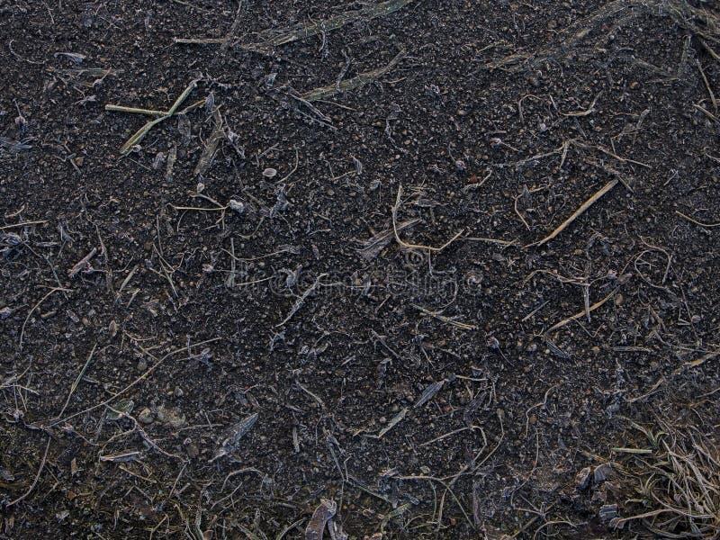 难看的东西设计师的土壤纹理 免版税库存图片